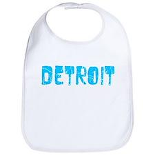 Detroit Faded (Blue) Bib