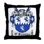 O'Scanlan Family Crest Throw Pillow