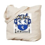 O'Scanlan Family Crest Tote Bag