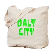 Daly City Faded (Green) Tote Bag