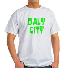 Daly City Faded (Green) T-Shirt