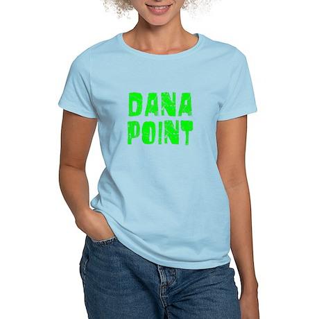 Dana Point Faded (Green) Women's Light T-Shirt
