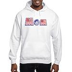 Red/White/Blue Mom Hooded Sweatshirt