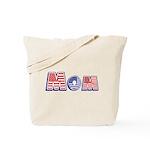 Red/White/Blue Mom Tote Bag