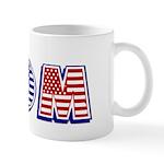 Red/White/Blue Mom Mug