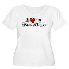 I Love My Bass Player T-Shirt