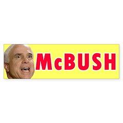McBush Bumper Bumper Sticker