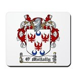 O'Mullally Family Crest Mousepad