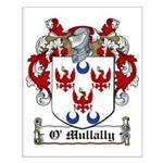 O'Mullally Family Crest Small Poster