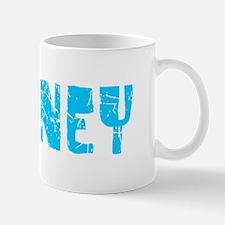 Downey Faded (Blue) Mug