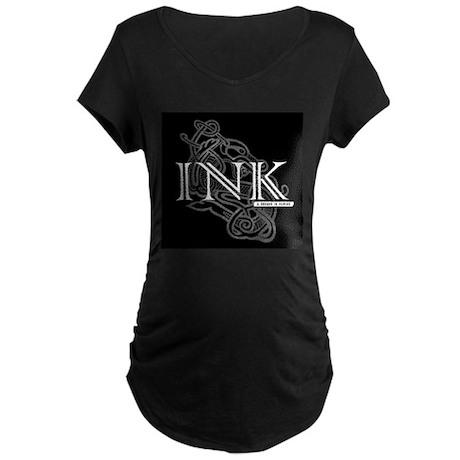INKMUSIC.NET Maternity Dark T-Shirt