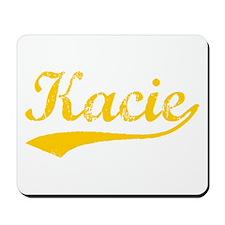 Vintage Kacie (Orange) Mousepad
