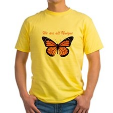 We Are All Unique: Butterfly T