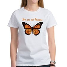 We Are All Unique: Butterfly Tee