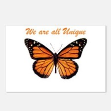We Are All Unique: Butterfly Postcards (Package of