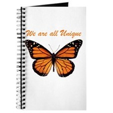 We Are All Unique: Butterfly Journal