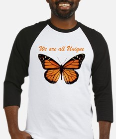 We Are All Unique: Butterfly Baseball Jersey