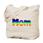 Rainbow Hands Mom Tote Bag