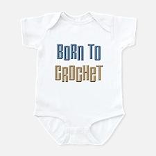 Born to Crochet Crafts Infant Bodysuit