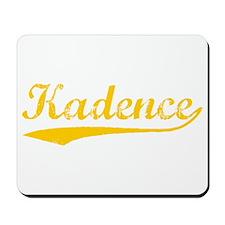 Vintage Kadence (Orange) Mousepad