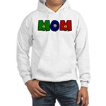 Smiley Face Mom Hooded Sweatshirt