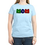 Smiley Face Mom Women's Light T-Shirt