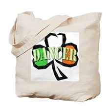 Shamrock Dancer Tote Bag