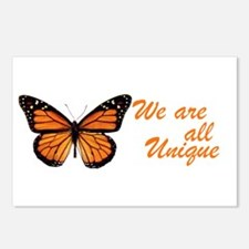 Butterfly: Side Inscription Postcards (Package of