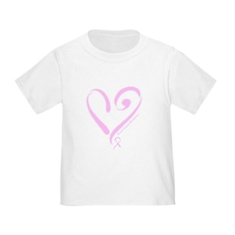 Breast Cancer Toddler T-Shirt