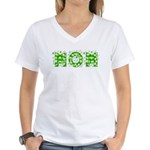 Stars Mom Women's V-Neck T-Shirt