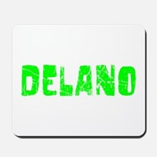 Delano Faded (Green) Mousepad