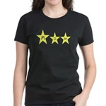 Yellow Star Mom Women's Dark T-Shirt