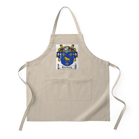 Crowley Family Crest BBQ Apron
