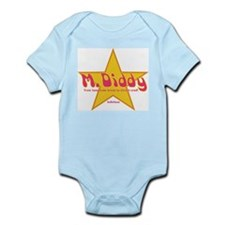 M Diddy Gold Star Infant Creeper