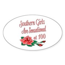 Sensational 100th Oval Decal