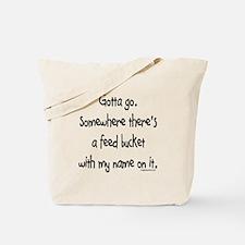 Cute Feed Tote Bag