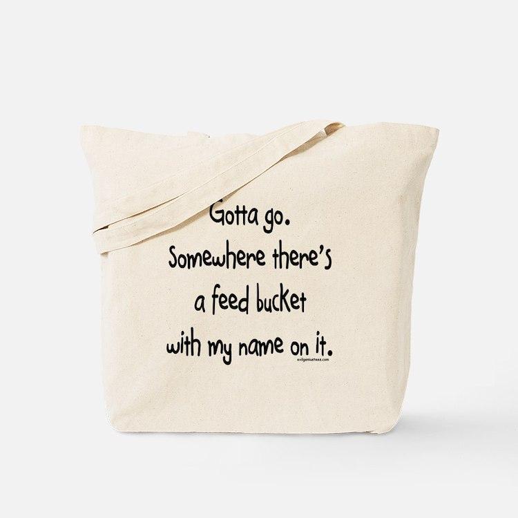 Cute Livestock Tote Bag