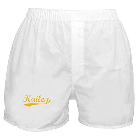 Vintage Kailey (Orange) Boxer Shorts