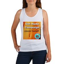 Get Nude Campaign Liberate Yo Women's Tank Top