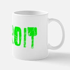 Detroit Faded (Green) Mug