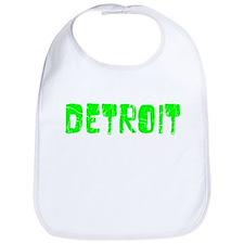 Detroit Faded (Green) Bib