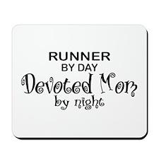 Runner Devoted Mom Mousepad