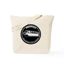 Black & White Monorail Tote Bag