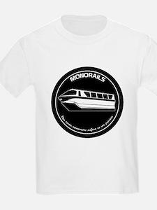 Black & White Monorail T-Shirt