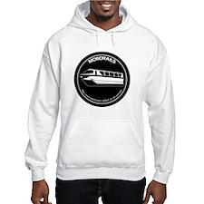 Black & White Monorail Hoodie