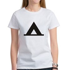 Tent Camping Silhoutte Tee