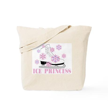 Ice Princess Pink Skate Tote Bag