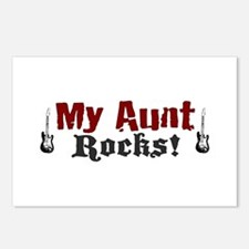 My Aunt Rocks Postcards (Package of 8)