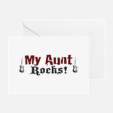 My Aunt Rocks Greeting Card