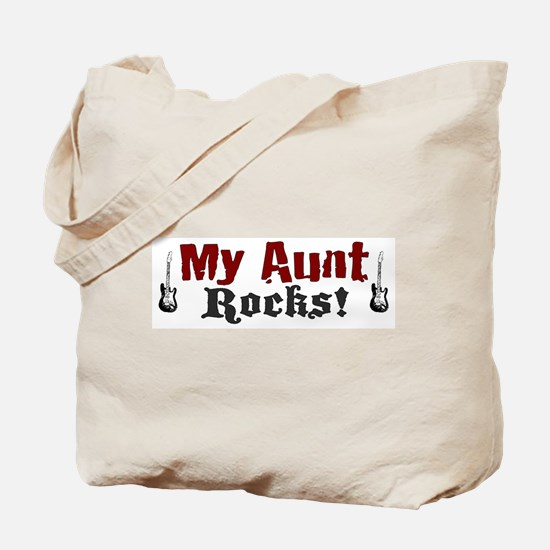 My Aunt Rocks Tote Bag